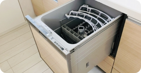 ビルドイン食洗機交換